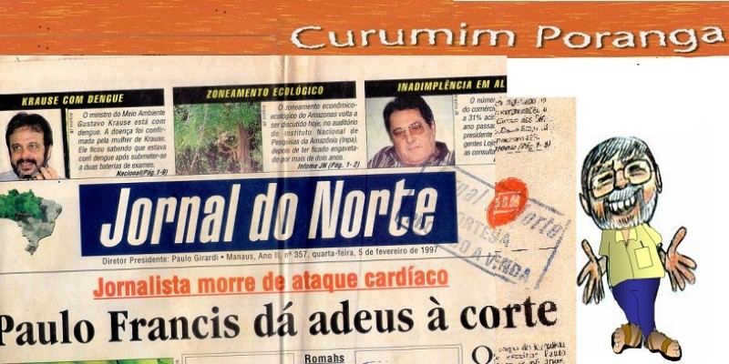 Curumim Poranga no Jornal do Norte