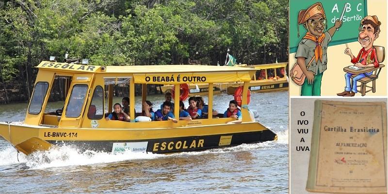 O beabá é outro: a canoa da educação brasileira