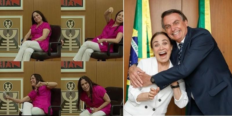 A namoradinha do Bolsonaro: o adeus à atriz