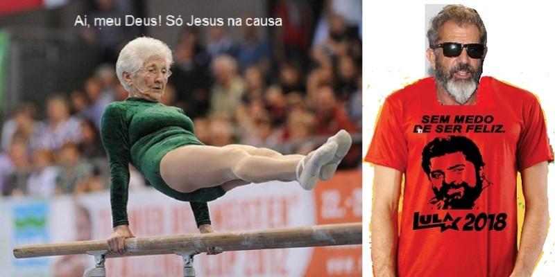 """Conversa de velhos: """"Ai, meu Deus, só Jesus na causa!"""""""